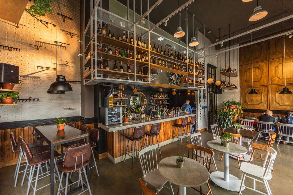 diseño de interiores para restaurante