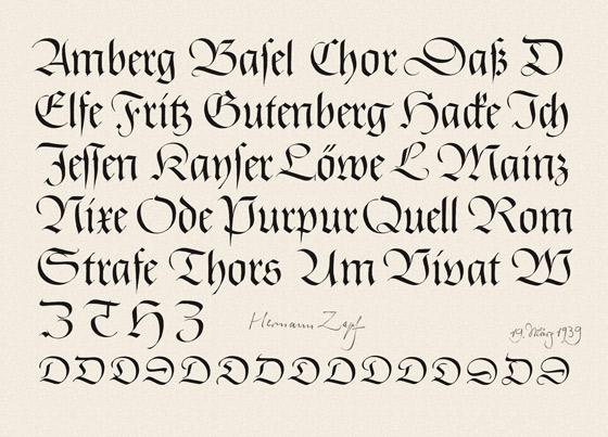 Hermann Zapf, el arte de la tipografía 2
