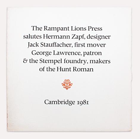 Hermann Zapf, el arte de la tipografía 8