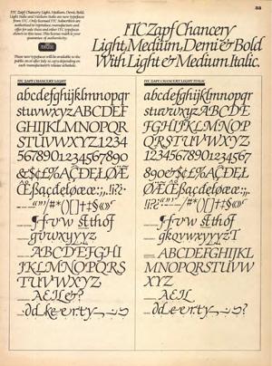 Hermann Zapf, el arte de la tipografía 11
