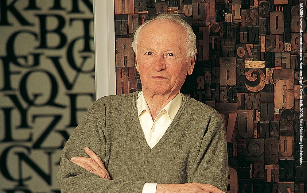 Hermann Zapf, el arte de la tipografía 1