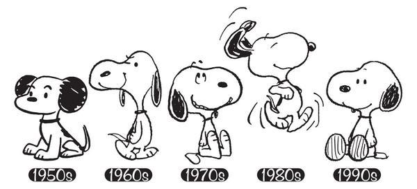 Snoopy festeja este año su aniversario número 70! 28