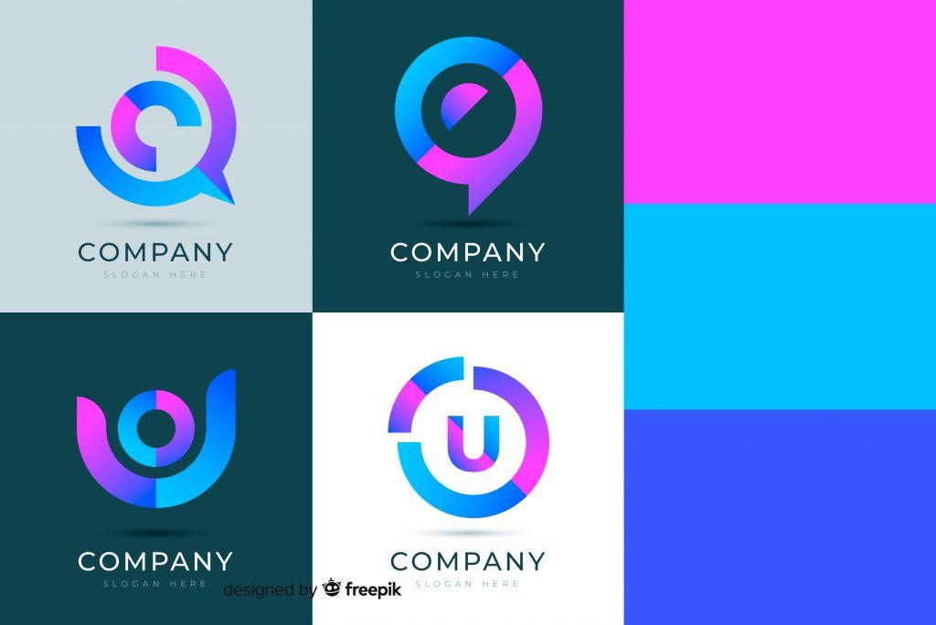 Paleta de colores para logo moderno