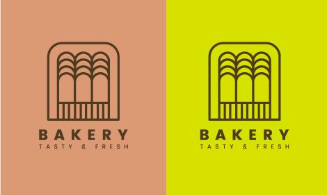 logo moderno panadería