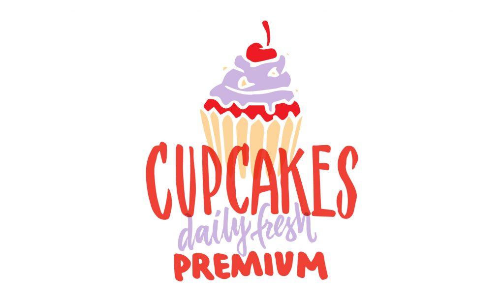 logotipo cupcakes